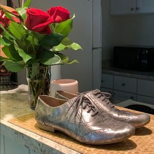 Silver Saddle Shoes